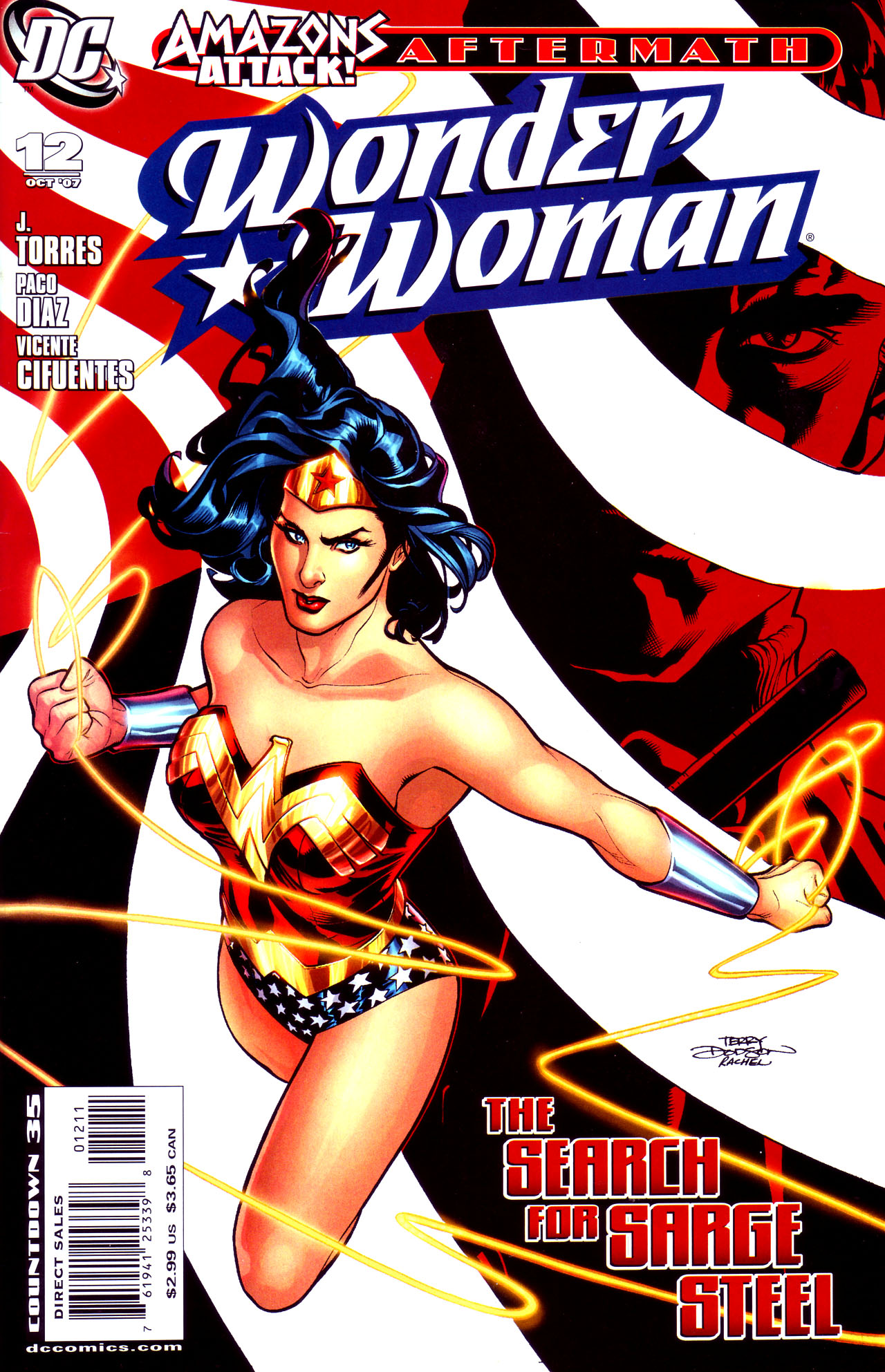 Read online Wonder Woman (2006) comic -  Issue #12 - 1
