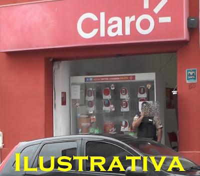 Loja da claro é assaltada em Chapadinha