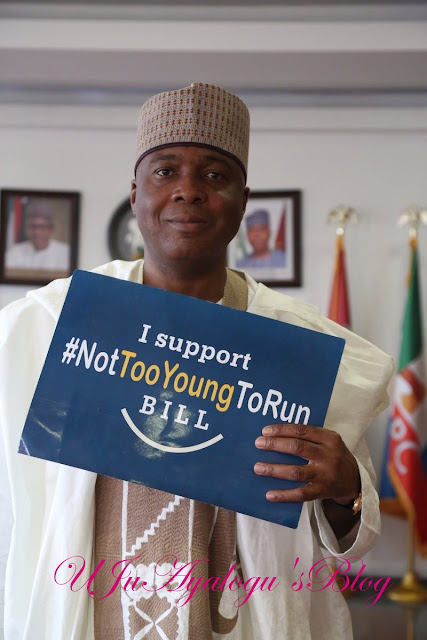 #NotTooYoungToRun: Nigerian Senate Passes Bill To Amend Age Requirement To Run For Office