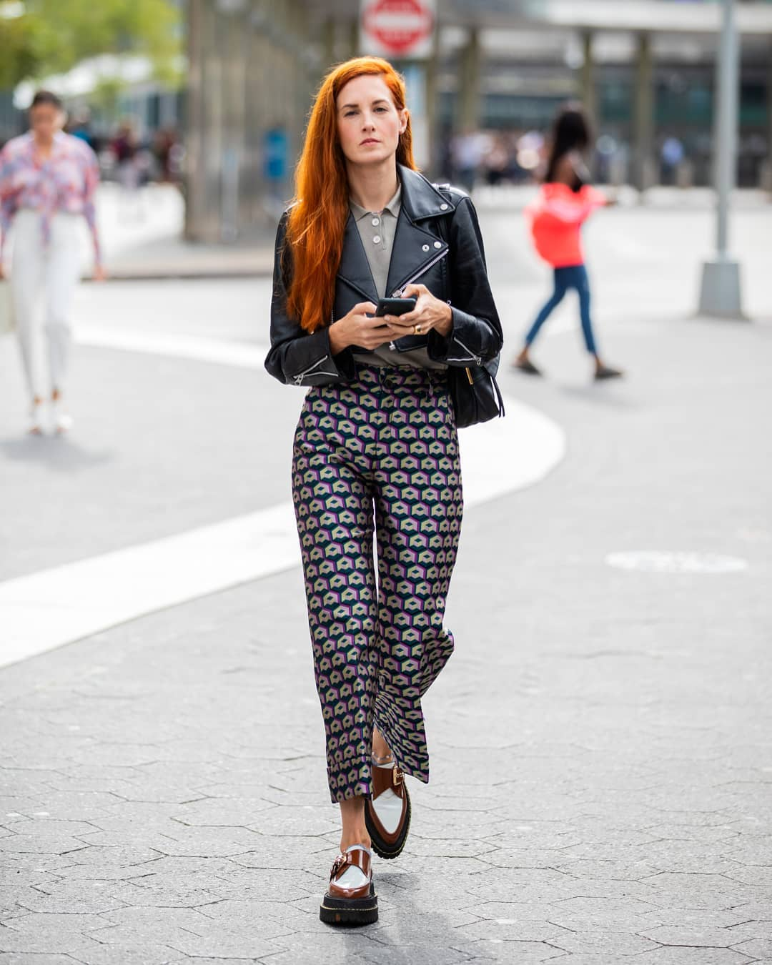 Printed Pants Are the Perfect Statement Piece for Fall