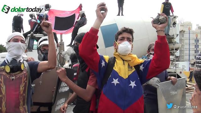 Resistiremos el tiempo que haga falta, Venezuela