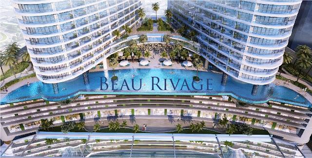phối cảnh tầng đế Beau Rivage