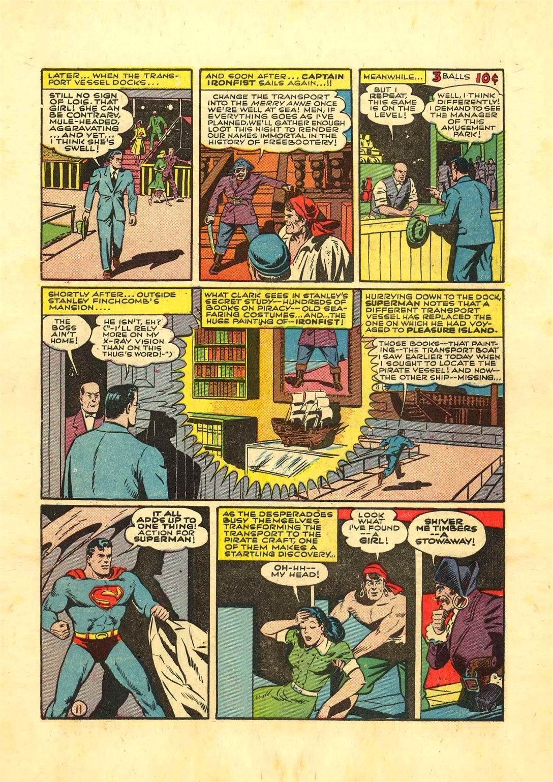 Read online Action Comics (1938) comic -  Issue #54 - 12