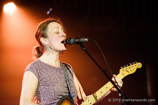 Sarah Harmer at Wolfe Island Winter Ball at Longboat Hall at The Great Hall on March 28, 2019 Photo by John Ordean at One In Ten Words oneintenwords.com toronto indie alternative live music blog concert photography pictures photos nikon d750 camera yyz photographer