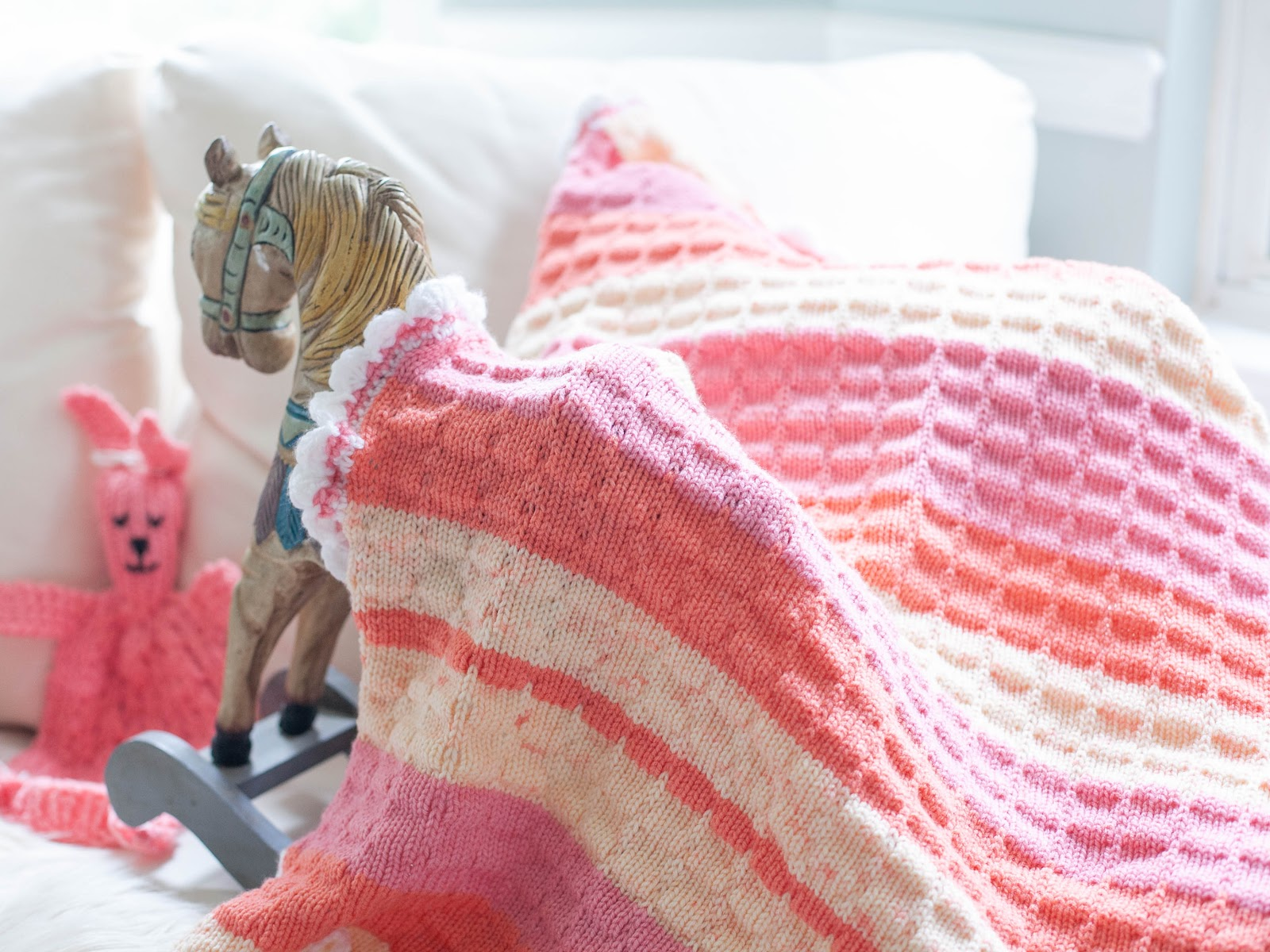 Loom Knitting Patterns Blanket