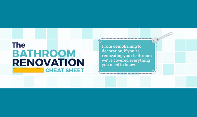 The Bathroom Renovation Cheat Sheet