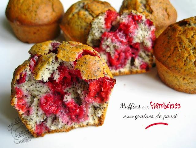 muffins framboise pavot