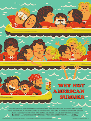 Wet Hot American Summer Movie Poster Screen Print by Andrew Kolb x Mondo