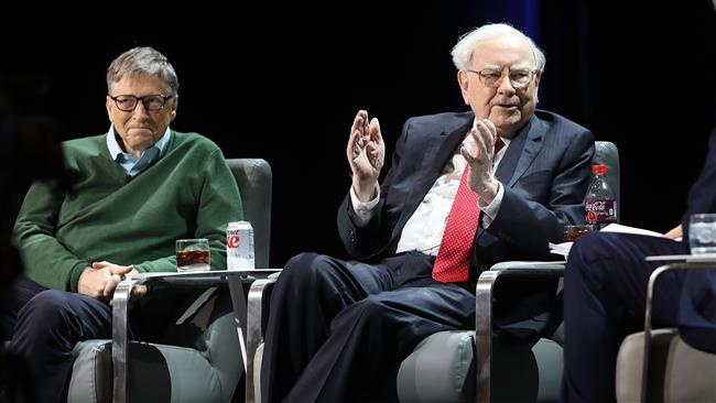 Warren Buffett donates $3.17 billion to Bill & Melinda Gates Foundation, four others