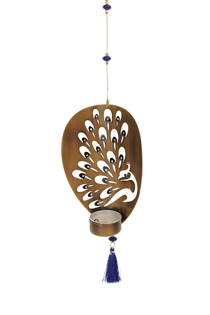 Fabindia-Mayurdeep Hanging Tea Light Holder MRP rs. 490