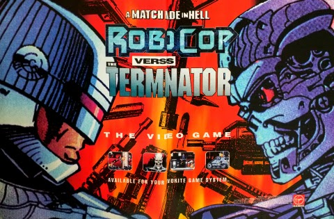 Robocop versus The Terminator (1993) advertisement
