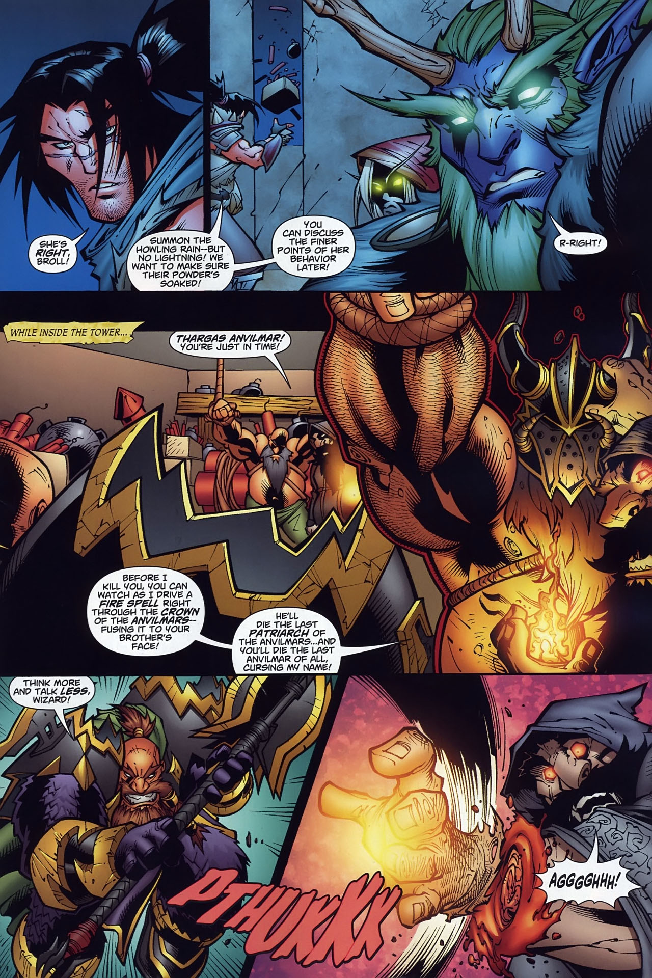 Read online World of Warcraft comic -  Issue #10 - 18