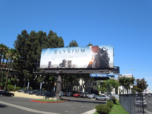 Elysium film billboard