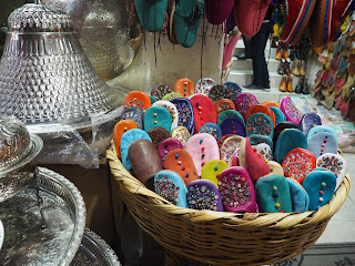 Marrakech medina slippers