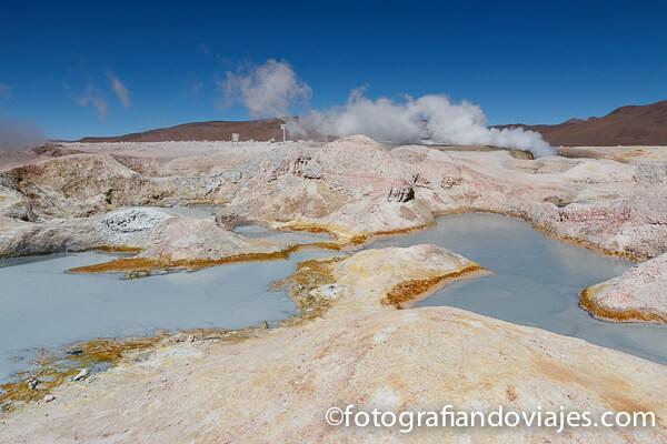 geiser Sol de Mañana Bolivia Eduardo Avaroa