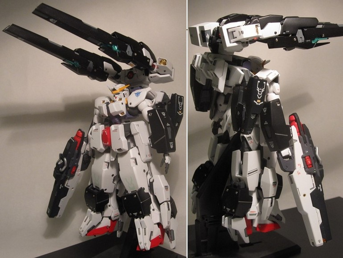HG 1/144 Raphael Gundam + GunPla Battle Arms Custom Build ... |Raphael Gundam Sdgo