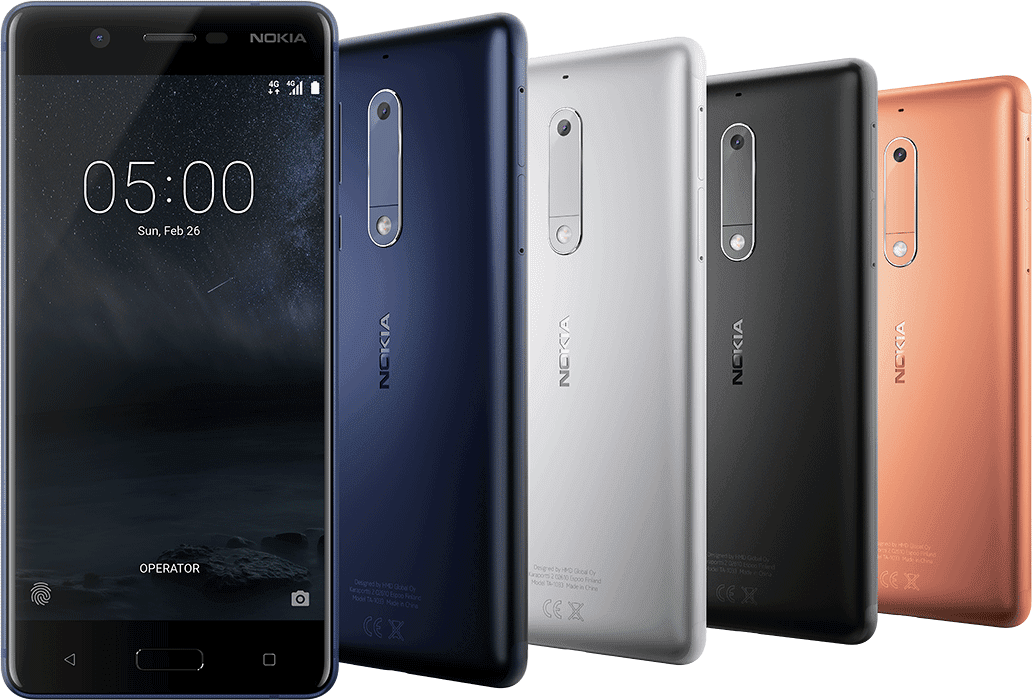 Nokia 5 In Different Colors And Views Kenya Price | Daily Updates