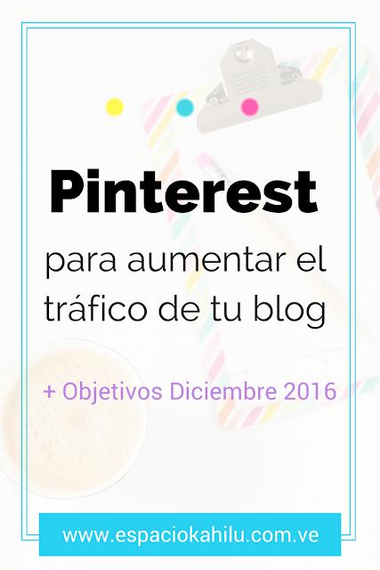 pinterest para aumentar el tráfico de tu blog