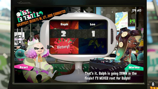 Marina will never root for Ralph Raph Raphael Teenage Mutant Ninja Turtles Splatfest