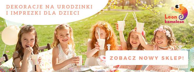 Fantastyczne dekoracje na urodziny dzieci - polecamy sklep LeonKameleon.pl
