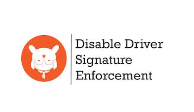 Cara Mudah Disable Menonaktifkan Driver Signature Eforcement untuk Flash Room Xiaomi