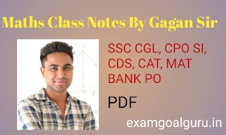 Math by gagan sir
