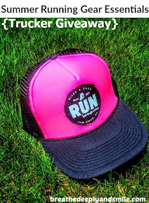 Summer Running Gear Essentials {Miles & Pace hat giveaway}