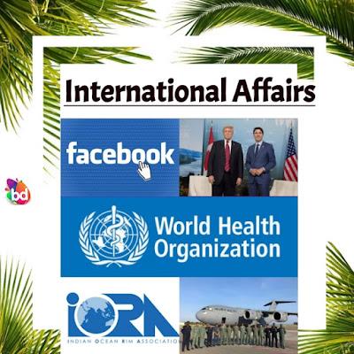 important international affairs