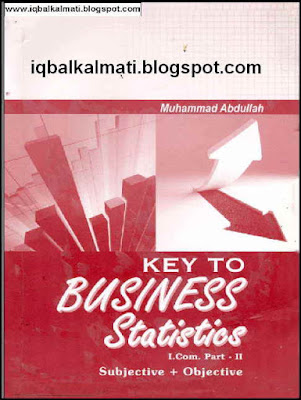 Business Statistics I.Com Part 2 Solved Exercises Notes