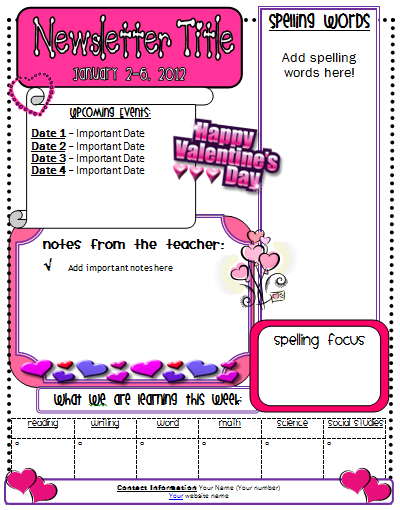 Valentine+Newsletter Valentine S Day Parent Letter Template on valentine's day from parents, valentine's day party note to parents, valentine party letter template, parent letters from teachers template, valentine's letters from him, valentine's day poems and letters, valentine's day quotes and sayings, valentine's day note for parents, valentine's day printable writing sheets, weekly letter to parents template, valentine's day party at school,