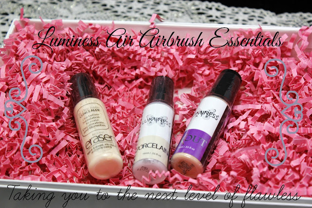 luminess air, primer, dark circles, wrinkle eraser, airbrush, airbrush makeup