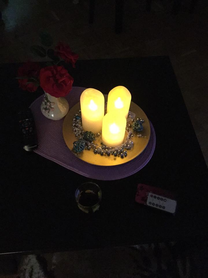 lahr2006 testet: Air Zuker LED Kerzen mit beweglicher