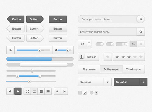 Kit de interface gratis