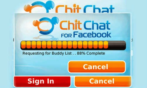 Use Facebook Chat without opening Facebook