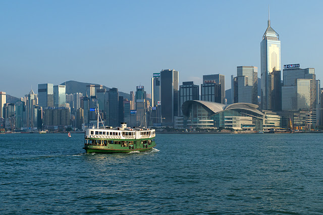 Le Star Ferry dans Victoria Harbour