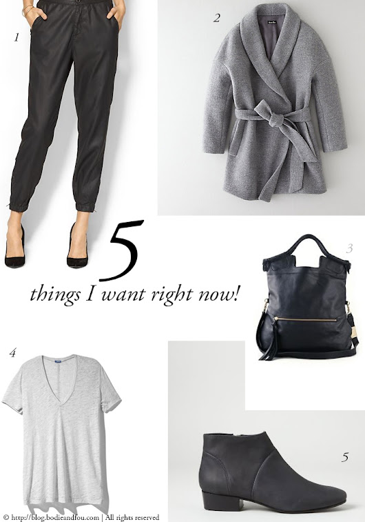 Read the BODIE and FOU★ Style Blog | Inspiring Design, Interiors & Fashion | Effortless style: 5 things I want right now!