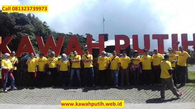 Kunjungan INDOSAT JAKARTA ke Kawah Putih