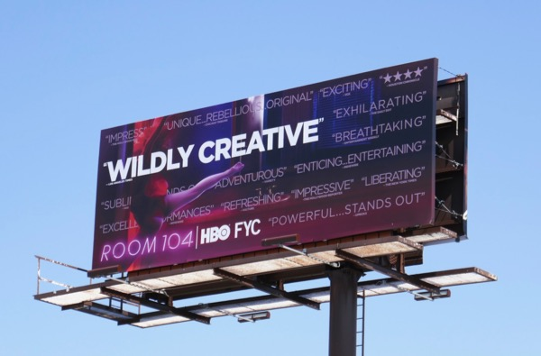 Room 104 Wildly creative Emmy FYC billboard