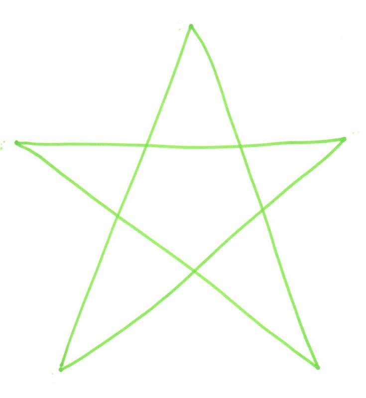 The Polka-Dot Umbrella: Drawing a Star for Kids