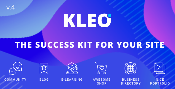 KLEO v4.9.4 – Next level WordPress Theme
