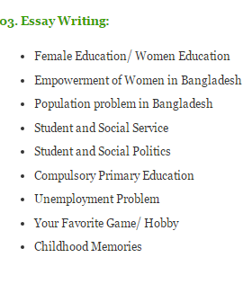 essay on the importance of female education