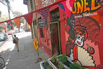 Barrio Bellavista (Bellavista neighborhood), Santiago de Chile.