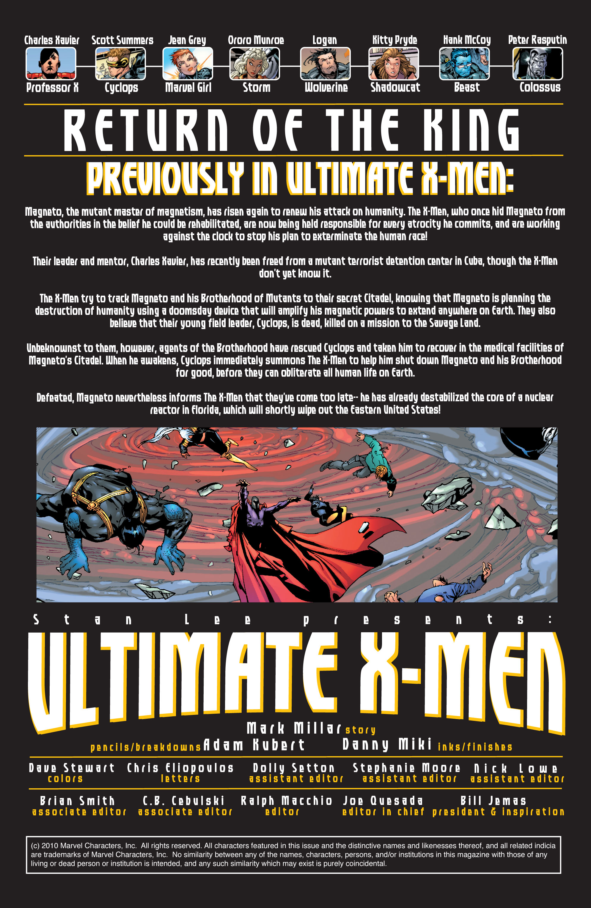 Read online Ultimate X-Men comic -  Issue #31 - 2