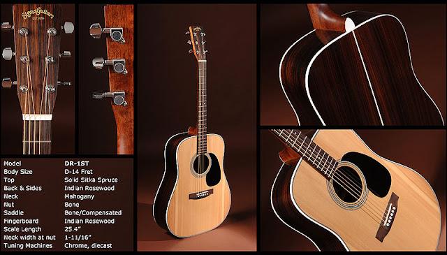 sigma dr 1st acoustic guitar l a music network. Black Bedroom Furniture Sets. Home Design Ideas