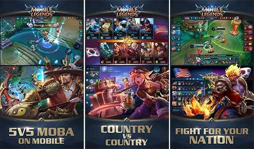 تحميل Mobile Legends Bang bang مهكرة