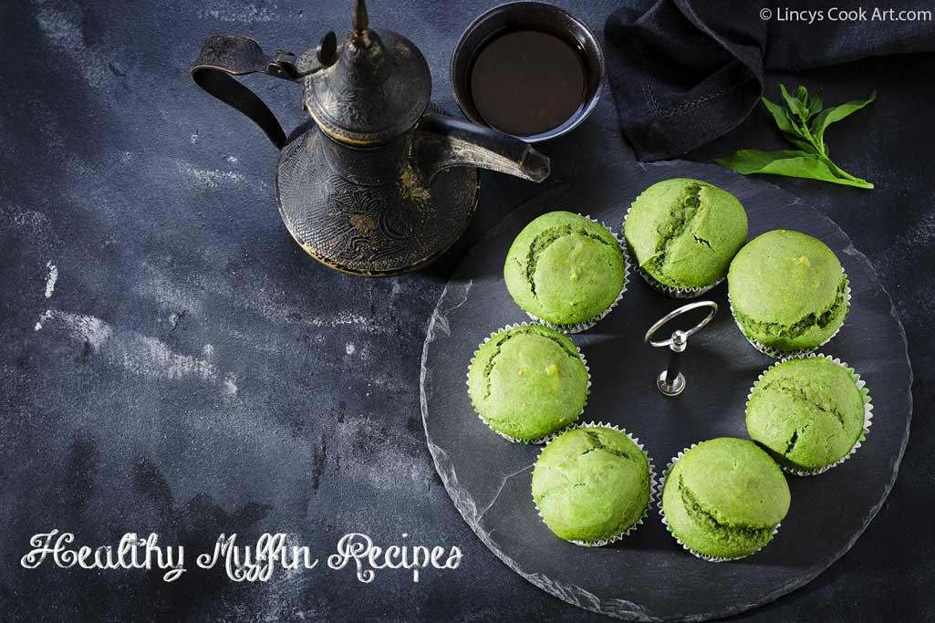 Green Muffins recipe
