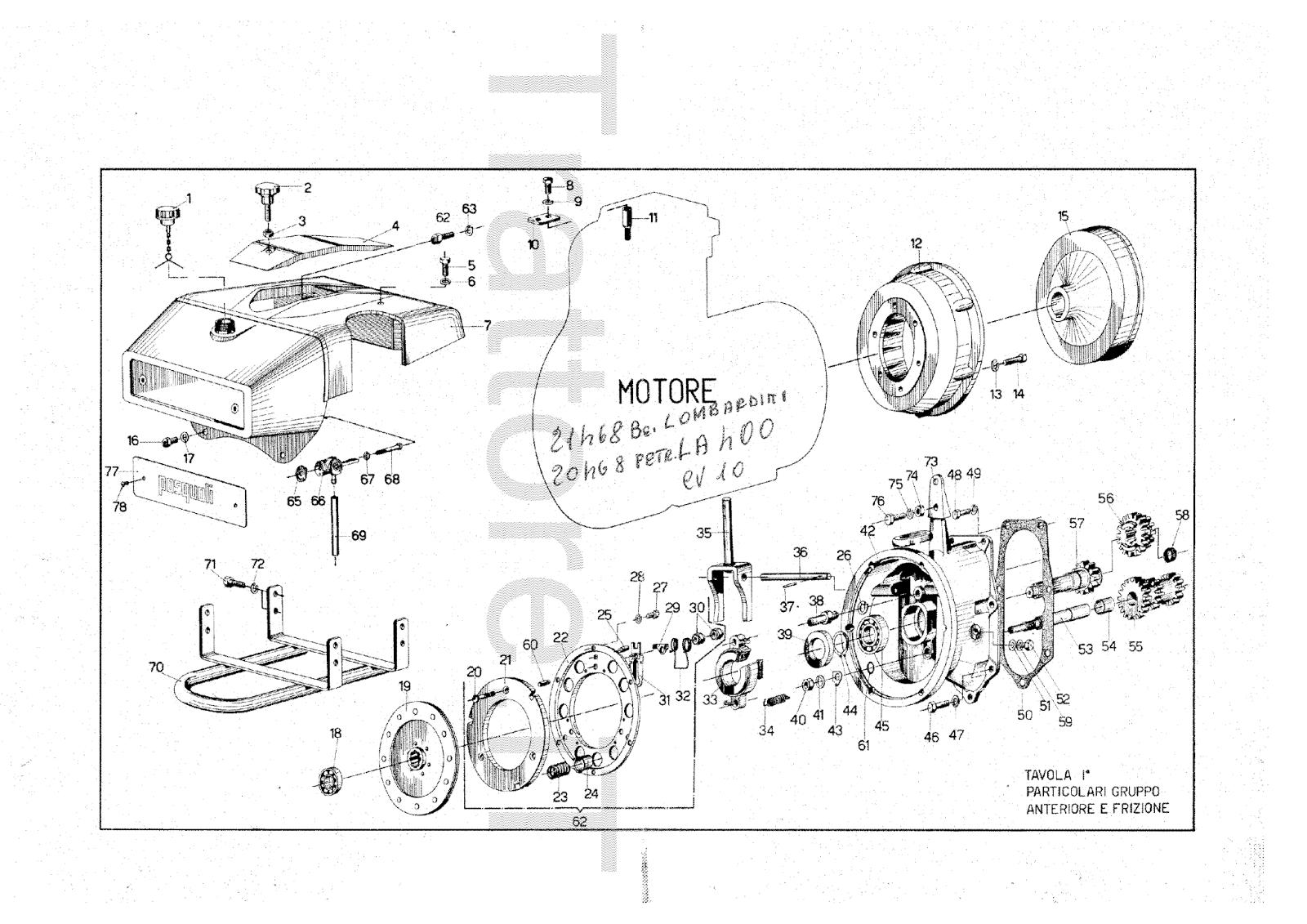 InfoTrattore.it: Motocoltivatore Pasquali 912 CV 10