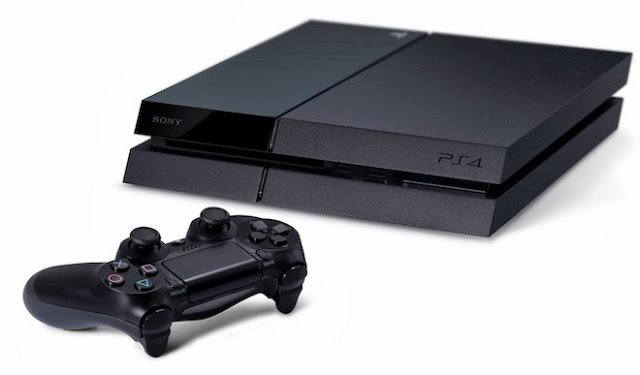 Black Playstation 4 Console, PS4, Sony, controller