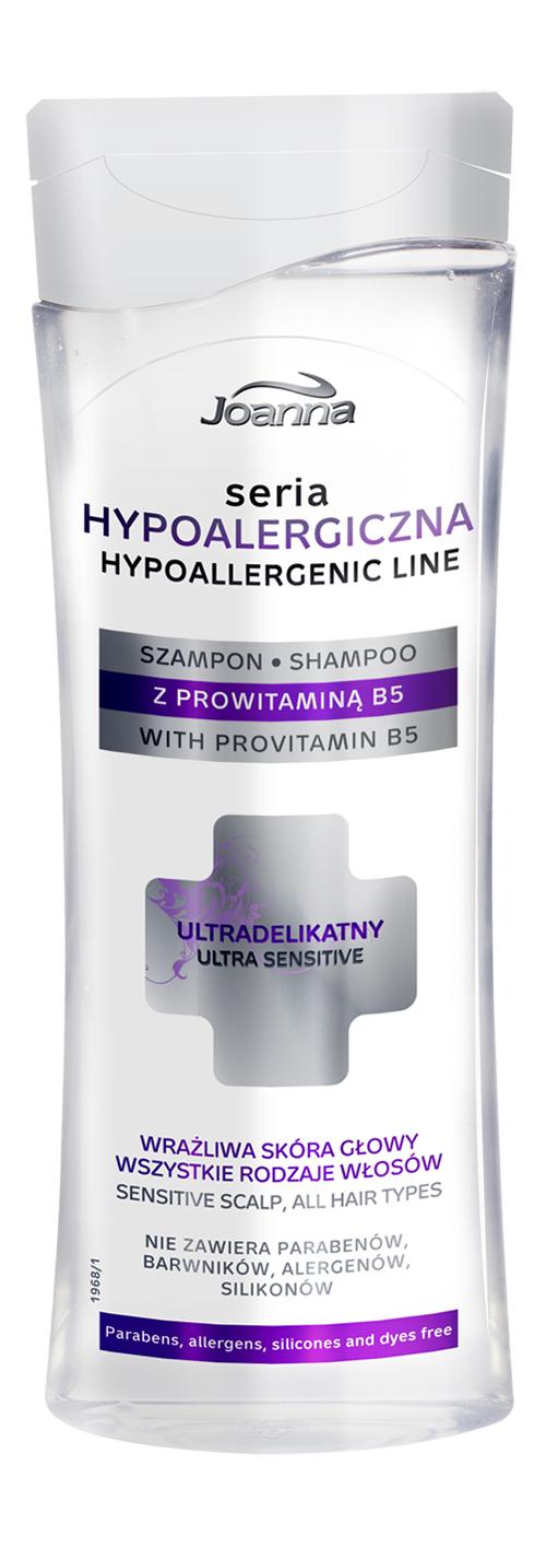 Hypoalergiczna seria do kompleksowej pielęgnacji ciała i włosów od Laboratorium Kosmetycznego Joanna
