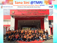 Evacuation and Fire Drill Training for TMpoint State PJ, Balai Bomba Taman Desa
